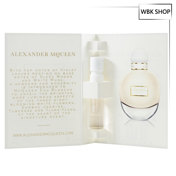 Alexander McQueen 白花之水 女性香水 針管小香 1.5ml Eau Blanche - WBK SHOP