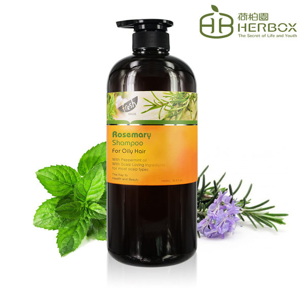《Herbox 荷柏園》薄荷迷迭香洗髮精 1000ml