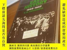 二手書博民逛書店FAR罕見EAST HISTORY 1860—1952Y1580