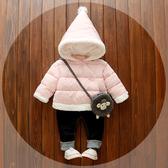兒童用品小披風鬥篷包巾加厚冬季保暖外套外出防風披肩兒童衣服 【快速出貨】