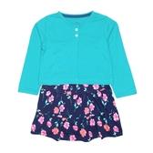 Carter s卡特 薄外套+包屁裙短袖洋裝套裝二件組 深綠 | 女寶寶連衣裙(嬰幼兒/兒童/小孩)
