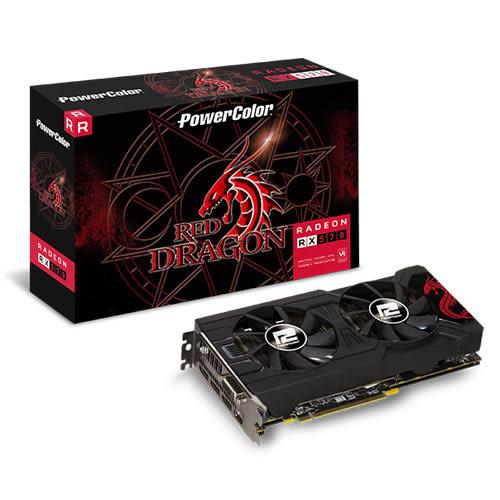 撼訊 POWERCOLOR RX570 8GBD5-3DHD OC 顯示卡