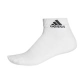 Adidas 3S PER AN HC 1P [AA2291] 短筒襪 透氣 舒適 彈性 男女 白