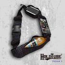 【HOLDTUBE】運動腰帶-三口袋(可拆手機袋)-甜點彩虹