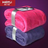 保暖珊瑚絨毯子法蘭絨法萊絨毛毯被子單雙人床單空調毯加厚冬季 mj9249【野之旅】TW