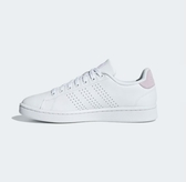 Adidas ADVANTAGE SHOES 女款白粉色運動休閒鞋-NO.F36481