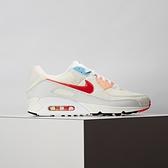 Nike Air Max 90 Future 男款 米白 橘勾 復古 氣墊 舒適 休閒鞋 DD8496-161