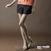 BIG TRAIN 配線休閒短裙-女-軍綠