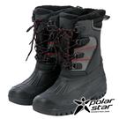 【PolarStar】男防潑水保暖雪鞋『黑』P19633 雪地靴.雪鞋.賞雪.滑雪.雪地必備