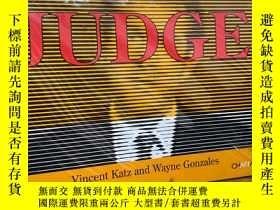 二手書博民逛書店Judge(英語)罕見平裝 – 2007年10月1日Y272368 Vincent Katz(Edito