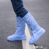 注塑硅膠防水防雨鞋套 雨天防滑加厚耐磨底鞋套男女學生 兒童鞋套 露露日記