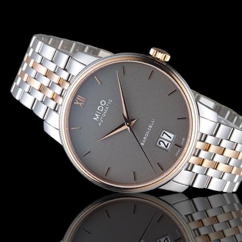 MIDO美度BARONCELLI永恆系列III經典機械腕錶   M0274262208800