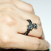 【喨喨飾品】磁性健康開運黑膽戒指S404