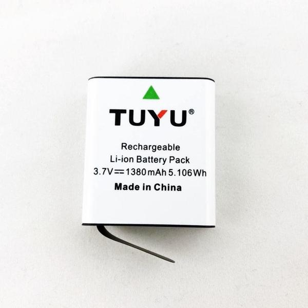 SJCAM 副廠 加大容量電池 1380mAh 適用 SJ4000/SJ5000/M10系列