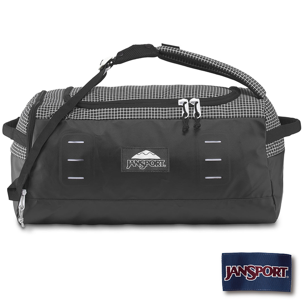 【JANSPORT】Good Vibes Hauler 45 系列後背包-黑白格(JS-45030)