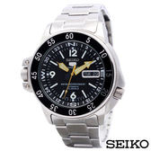 SEIKO精工  精工5號雙龍頭自動上鍊運動機械錶 SKZ211K1