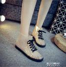 韓版透明防滑膠鞋雨靴短筒繫帶夏天果凍水鞋女生雨鞋成人雨水套鞋   東川崎町