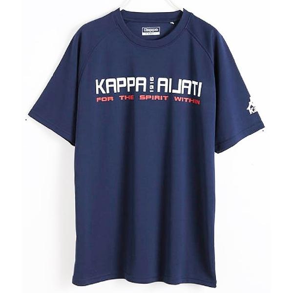 KAPPA義大利 時尚舒適型男KOOL DRY吸濕排汗衫 新丈青