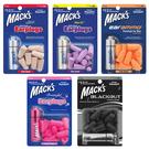 美國 Macks 泡棉耳塞 7副裝 送鑰匙圈收納盒 20823