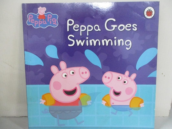 【書寶二手書T1/少年童書_EIU】Peppa Goes Swimming_Neville Astley, Mark Baker