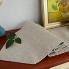 純色桌旗現代簡約中美式北歐電視柜鞋柜蓋布...