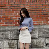 窄裙 白色包裙小短裙修身高腰職業工作裙彈力一步裙包臀裙 巴黎春天