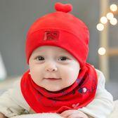 嬰兒帽子0-3-6-12個月春秋男童薄款女寶寶帽子新生兒胎帽純棉秋冬