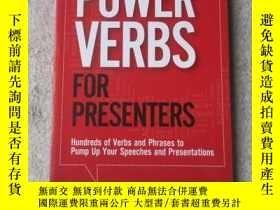 二手書博民逛書店Power罕見Verbs for Presenters: Hun