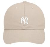 MLB KOREA 經典老帽 洋基NY 刺繡LOGO 復古 奶茶灰 棒球帽 32CP15931-50B