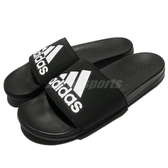 adidas 拖鞋 Adilette CF Logo 黑 白 運動拖鞋 男鞋 涼拖鞋 舒適好穿【ACS】 CG3425