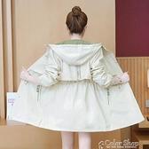 2021新款秋季外套女韓版寬松顯瘦風衣女中長款春秋百搭學生外套 快速出貨