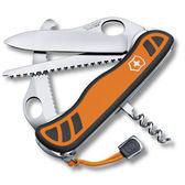 VICTORINOX 6 用單手開防滑刀殼瑞士刀橘VTN 08341 MC9