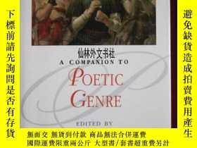 二手書博民逛書店【罕見】2012年 A Companion to Poetic