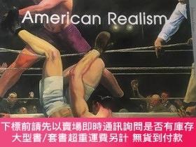 二手書博民逛書店american罕見realism美國現實主義大師畫集Y118363 j e