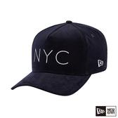 NEW ERA 9FORTY 940KF 燈心絨 NYC 海軍藍 棒球帽