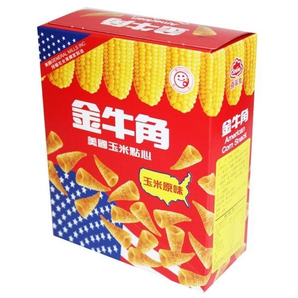 【喜年來】金牛角玉米原味60g