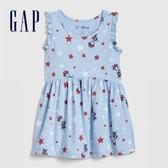 Gap 女幼童 Gap x Disney迪士尼系列米妮印花圓領休閒上衣 577364-米妮老鼠圖案
