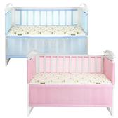 嬰兒床圍 3D透氣網眼 防撞床圍 附收納袋 可拆洗 防摔 寶寶床護欄 JB1115