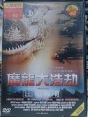 挖寶二手片-Y90-034-正版DVD-電影【魔龍大浩劫】-迪恩凱因