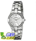 [美國直購] 女錶 XOXO Women s XO109 Silver Dial Silver-tone Bracelet Watch