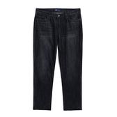 Gap女裝 男友風純棉水洗牛仔褲 499915-水洗黑