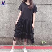 【春夏新品】American Bluedeer - 休閒連衣裙 二色 春夏新款