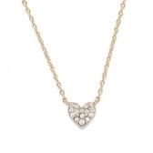 日本phoebe 心形鑽石項鍊