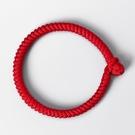 肖戰同款紅繩手錬金剛結手繩手工編織情侶一對本命年轉運男女禮物