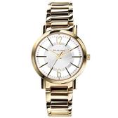 RELAX TIME/美麗佳人時尚鏤空不鏽鋼腕錶-白(RT-56-5)