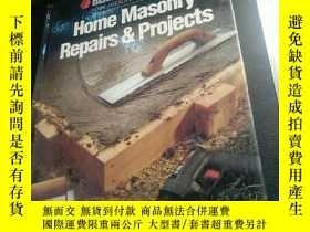 二手書博民逛書店Home罕見Masonry Repairs&ProjectsY7