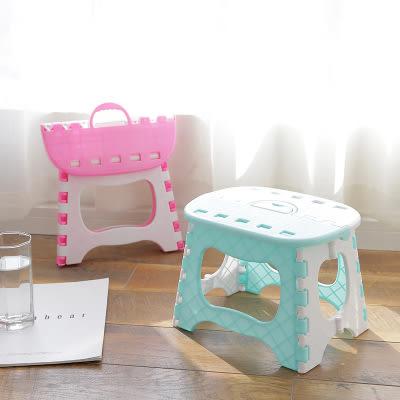 折疊便攜式折疊椅 兒童成人手提椅 隨機出貨 (購潮8)