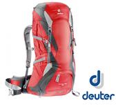 德國 deuter Futura Pro 透氣網架登山大背包 42+5L『紅/灰』34294 登山背包