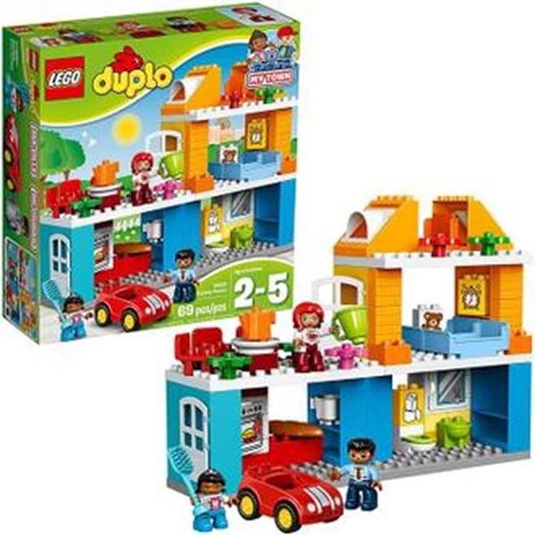 LEGO 樂高 得寶 My Town Family House 10835 幼兒積木玩具