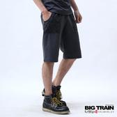 Big Train 和柄印花針織短褲-男-鐵灰-B5010785